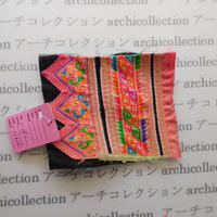 Hmong モン族 はぎれno.181 11x10 cm 刺繍布 古布 山岳民族 hilltribe ラオス タイ
