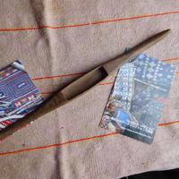 織り 織機 シャトル 杼 使用可 ストアーズno.28  40 g  全長36巾2.8高2 内径長7.8巾2.1深1.4cm shuttle 木製 オールド