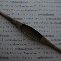 織り 織機 シャトル 杼 ストアーズno.76 4.3x3.8x2.8 cm shuttle 木製 オールド コレクション  のコピー
