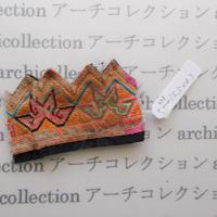Hmong モン族 はぎれno.228  5.5x8 cm 刺繍布 古布 山岳民族 hilltribe ラオス タイ