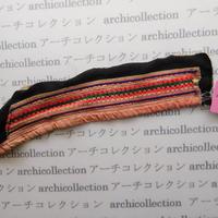 Hmong モン族 はぎれno.13  26x6 cm 刺繍布 古布 山岳民族 hilltribe ラオス タイ