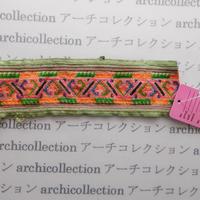 Hmong モン族 はぎれno.53  19x6 cm 刺繍布 古布 山岳民族 hilltribe ラオス タイ