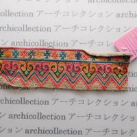 Hmong モン族 はぎれno.49  20x5 cm 刺繍布 古布 山岳民族 hilltribe ラオス タイ