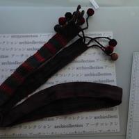 ナガ族のベルト布 no.9S 152x4.5cmcm 綿 Naga tribe インド ミャンマー北部 India Nagaland ナガランド