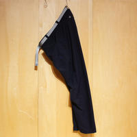 "SlowHands""nylon stretch jogger pants""(navy)unisex"