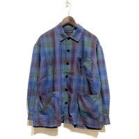 "TigreBrocante""venice beach shirts JK""(rainbow blue)unisex"