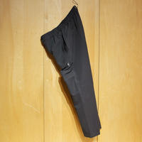 "SlowHands""nylon stretch treck pants""(dark gray)unisex"
