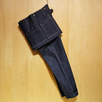 "ASEEDONCLOUD""Handwerker apron trousers"" (indigo) unisex"