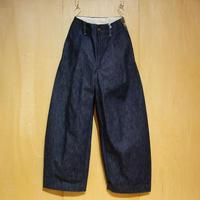 """ASEEDONCLOUD""""Handwerker wide trousers"""" (indigo) women's"""