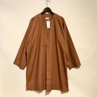 "HUE ""Slip-on type Jacket""(brown) unisex"