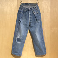"KNIFEWING""USA501 remake women's wide pants""(B)"