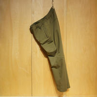 "SlowHands""nylon stretch treck pants""(olive)unisex"