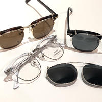 "SHURON ""RONSIR ZYL"" clip-on polarized sunglass"