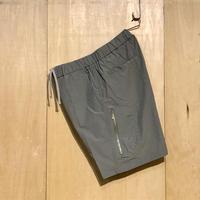 "FLISTFIA""zip pocket shotrs""(moss gray) unisex"