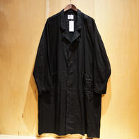 "H.UNIT ""raglan long atelier coat"" (black) unisex"