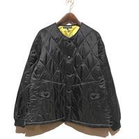 "TigreBrocante""nylon quilt bomberman jacket""(black)unisex"