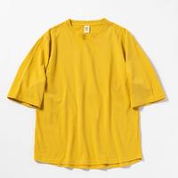 "Jackman""1/2 sleeve t-shirts""(sulphur yellow) unisex"