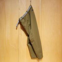 "SlowHands""nylon stretch jogger pants""(olive)unisex"