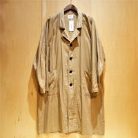 "H.UNIT ""raglan long atelier coat"" (beige) unisex"