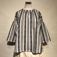 "Slow Hands ""dobby stripe blouse"" women's"