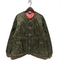 "TigreBrocante""nylon quilt bomberman jacket""(khaki)unisex"