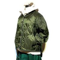 "TigreBrocante""nylon quilt liner jacket""(khaki)women's"
