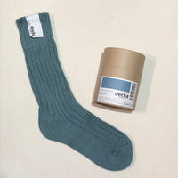 decka quality socks (cased heavy weight socks) c.blue