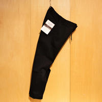 "KAFIKA""TC twill stretch lounge trousers""(black) unisex"