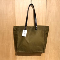 "Kate Sheridan ""MIDI TOTE""(sand) waxed cotton"