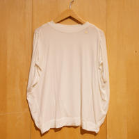 "Slowhands""bamboo stretch wing tee""(ivory)womens"