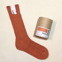 decka quality socks (cased heavy weight socks) orange
