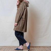 """Kate Sheridan""""Batwing Coat Waxed Cotton""""(sand wax×peach) women's"""