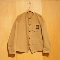 """ASEEDONCLOUD""""Handwerker C/N no collar jacket"""" (beige) unisex"""