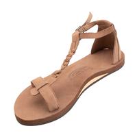 """RAINBOW SANDALS """"the kalafia ankle strap""""(dark brown)women's"""