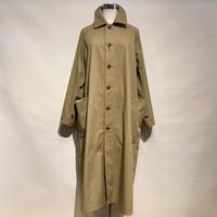 """ASEEDONCLOUD""""Handwerker C/N over coat"""" (beige) unisex"""