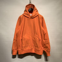 "FLISTFIA""vintage side rib hooded""(summer orange) unisex"
