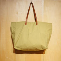 "Kate Sheridan ""GIGA TOTE""(emerald green) waxed cotton"