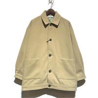 "amne ""melton harrington coat"" (beige) unisex"
