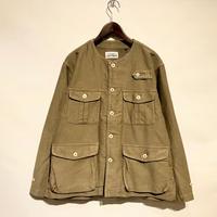 "TigreBrocante""moleskin no collar safari jacket""(beige)unisex"