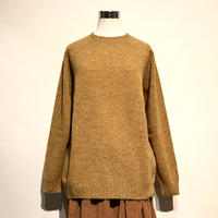 "Harley of Scotland""oversized crewneck sweater(cumin)unisex"