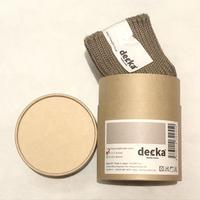 decka quality socks (cased heavy weight socks) beige
