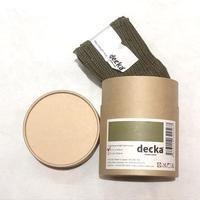 decka quality socks (cased heavy weight socks) olive