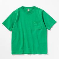 "Jackman""dotsume pocket T-shirts""(kelly green ) unisex"
