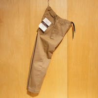 "KAFIKA""TC twill stretch lounge trousers""(beige) unisex"