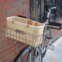 """Butler Verner Sails """"bamboo×leather market basket""""  (S)"""