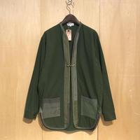 "KNIFEWING""remake liner jacket ""(swedish army shirts)"