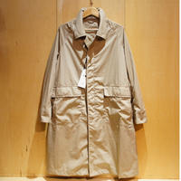 "amne ""ease BROAD coat"" (beige) unisex"