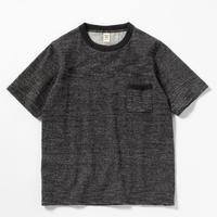 """Jackman""""dotsume pocket T-shirts""""(heather black) unisex"""