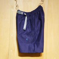 """SlowHands""""nylon stretch loose relax shots """"(navy)"""
