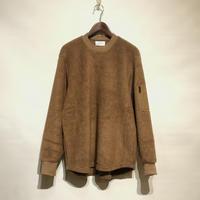 "FLISTFIA""army zip pullover""(camel) unisex"